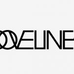 grooveline logo lines up white
