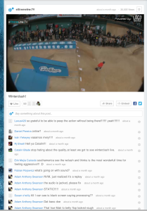 30.000 live viewers on livestream page!