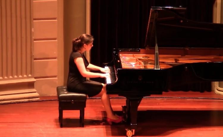Daria van den Bercken - Concert Gebouw in Amsterdam